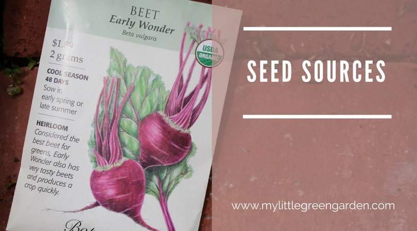 Organic Seed Sources