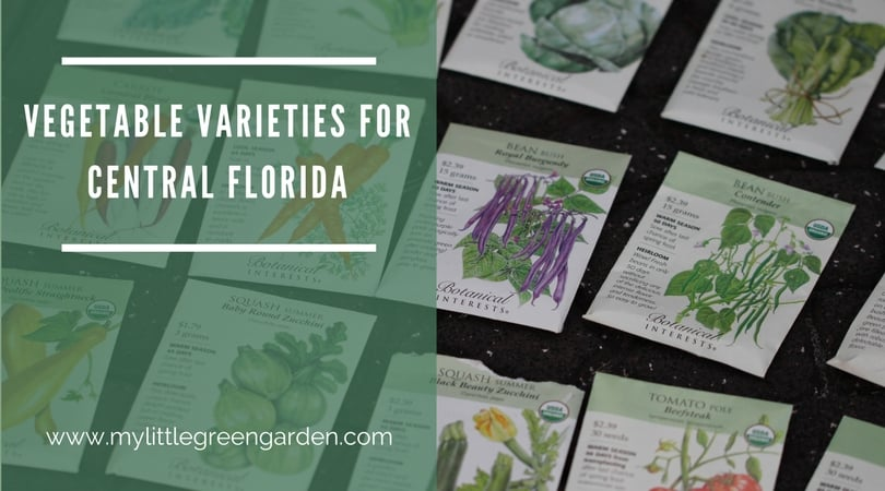 Vegetable Varieties for Central Florida