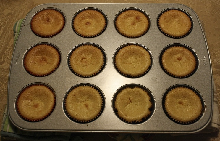 Pumpkin Pie Cheesecake Cupcakes