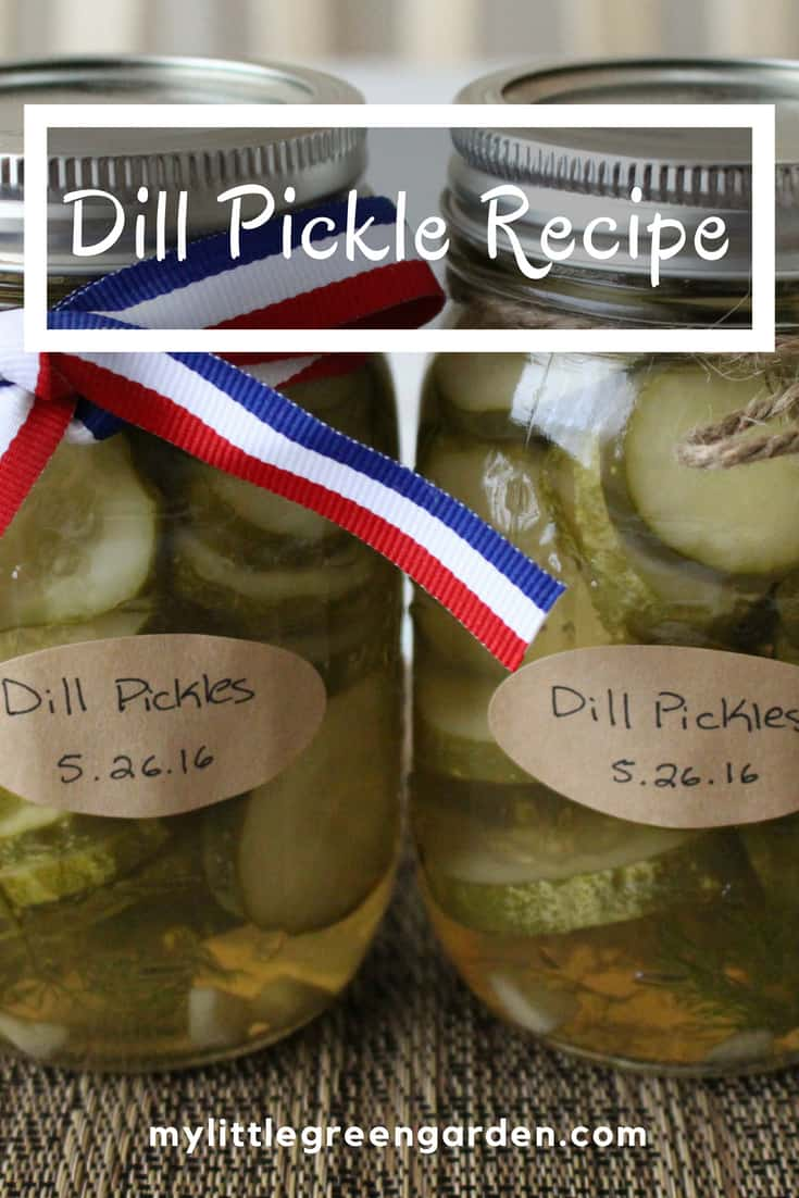 Dill Pickle Recipe