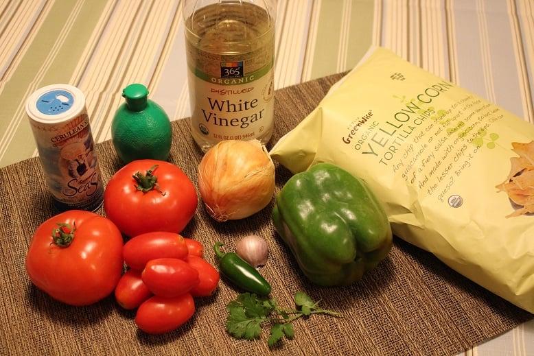Salsa recipe ingredients