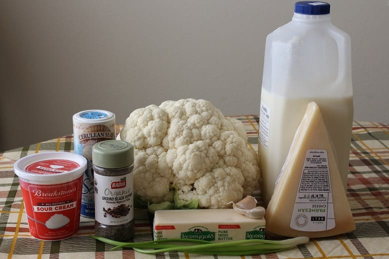 mashed-cauliflower-ingredients