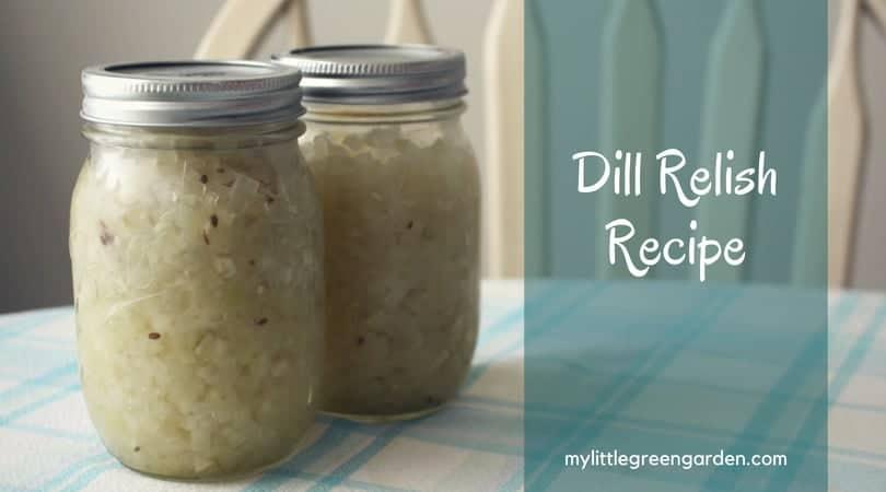 Dill Relish Recipe