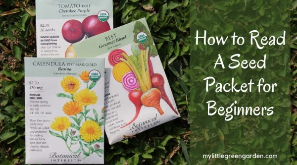 How to Read A Seed Packet for Beginners