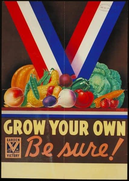 Victory Garden Propaganda WWII