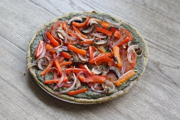 Paleo Cauliflower Pizza